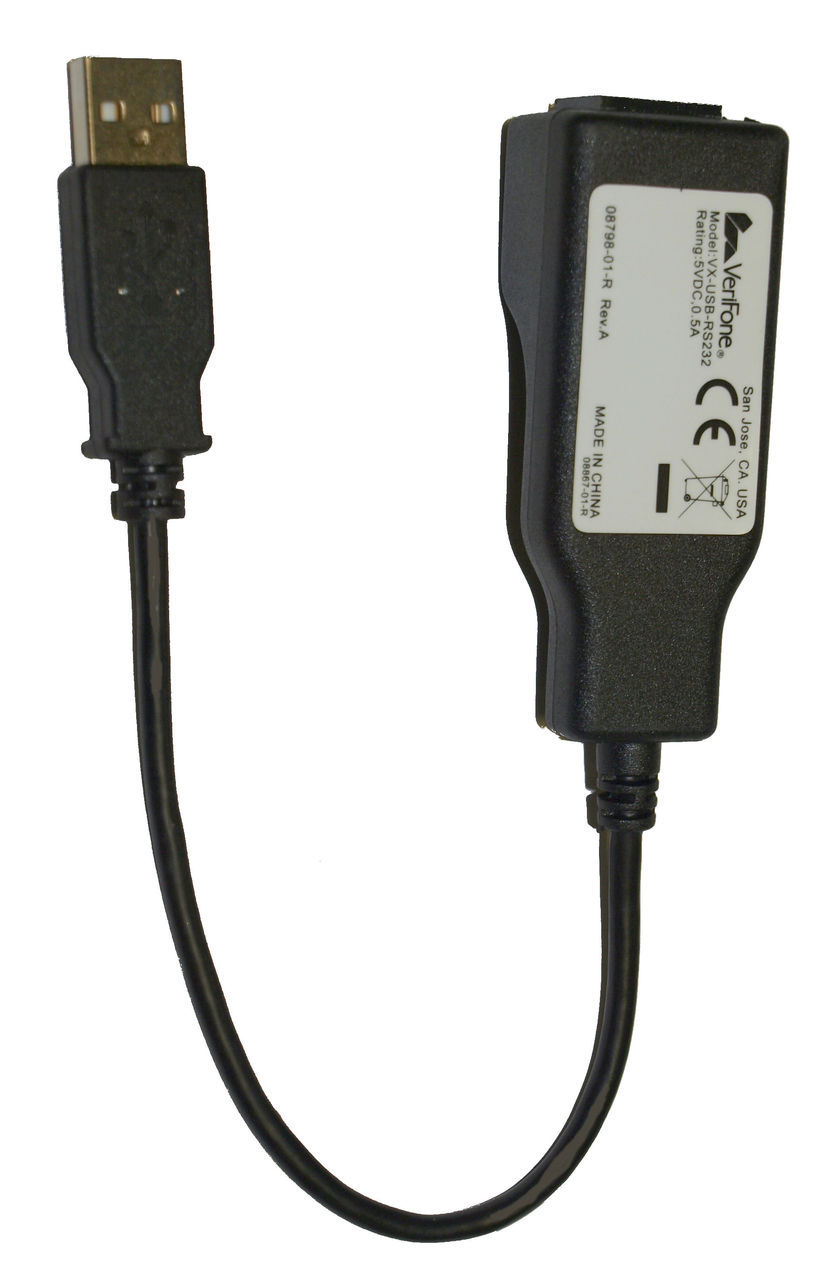 Verifone Vx 520 to Check Reader or Imager Adapter Cable- 08798-01-R Generic